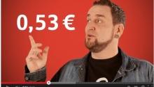 """Werbegesicht der Sparkassen """"GiroCents"""""""
